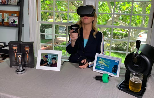 I was caught taking a break with Oculus Quest (doh!) while we were shooting the Father's Day gadget gift video