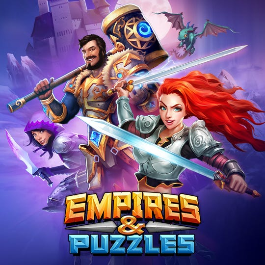 "Zynga's game ""Empires & Puzzles"""