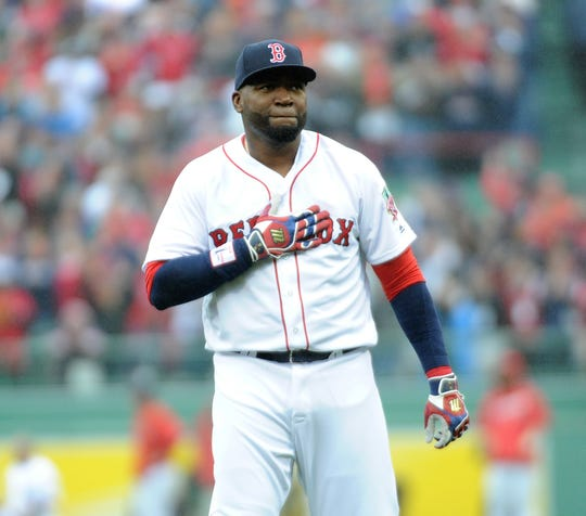 David Ortiz hit 541 home runs in his career.