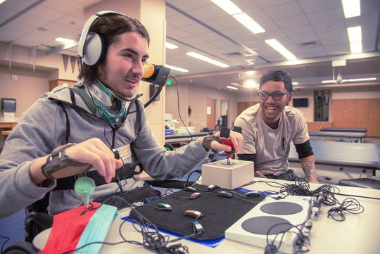 Empowering people of all abilities to play, Xbox Adaptive Controller aids gamers with physical challenges.
