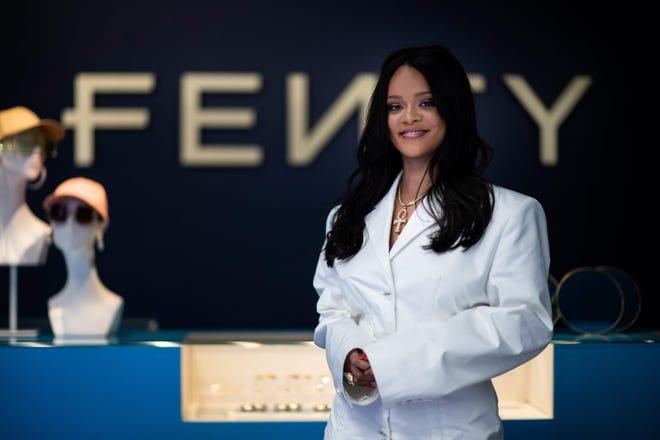Rihanna in Paris on May 22, 2019.