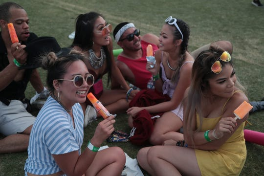 Coachella concert goers snack on popsicles and creamsicles, but what do we have to do to give them a good pudding pop?