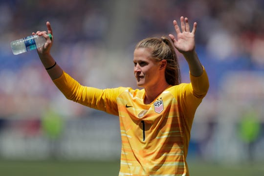After sitting behind Hope Solo, Alyssa Naeher is now the starting goalkeeper for the U.S. heading in the World Cup.