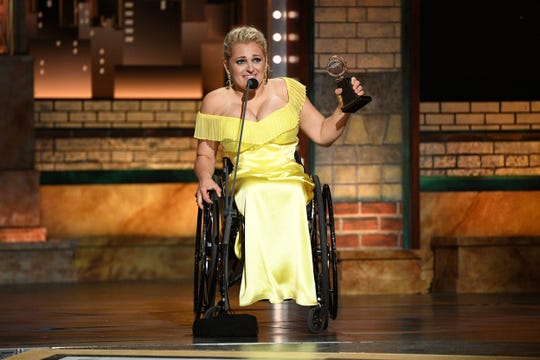 Ali Stroker's historic win Sunday night was a Tonys highlight.