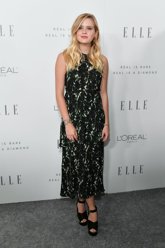 Ava Phillippe attends ELLE's 24th Annual Women in Hollywood Celebration on October 16, 2017 in Los Angeles, California.