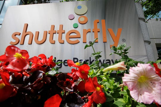 Shutterfly headquarters in Redwood City, Calif.