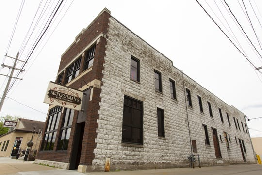 McFleshman's Brewing Co. in downtown Appleton is interested in housing a beehive from Lawrence University on its roof. After objection from Wells Fargo across the street, the Board of Health will vote on the matter June 12.