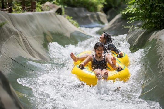 Mountain Creek Resort in Vernon has water rides for all thrill levels.
