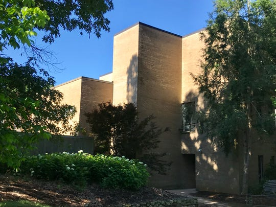 UNC Asheville is renovating the Owen and Carmichael buildings, which will include some exterior and grounds work necessitating the removal of some trees. Owen Hall is pictured here.