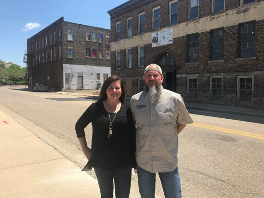 Jennifer Brown and Chris McCleary are bringing their brewery, Handmap Brewing to downtown Battle Creek this fall. Handmap will be located on the first floor of 15 Carlyle St. at the Record Box building.