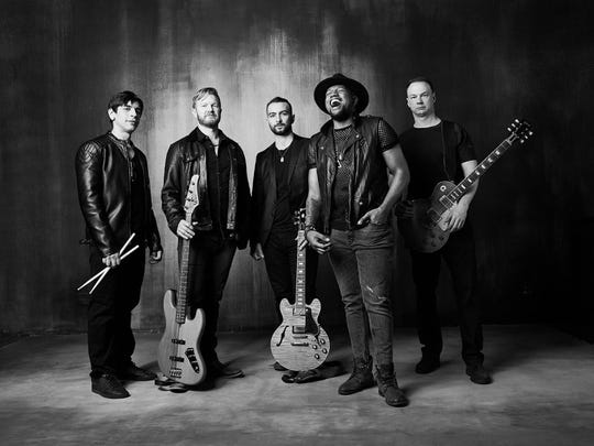 The Ghost Hounds, with Maine-Endwell native Thomas Tull on the guitar (far right), will open for the Rolling Stones in Washington D.C.