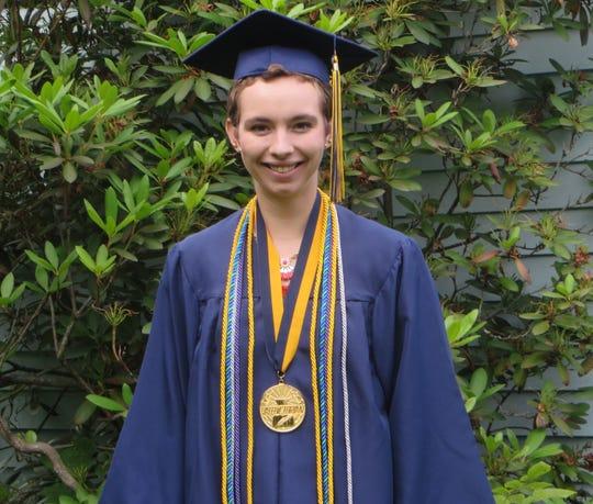 Julia Allen was the valedictorian of Susquehanna Valley High School's class of 2015.