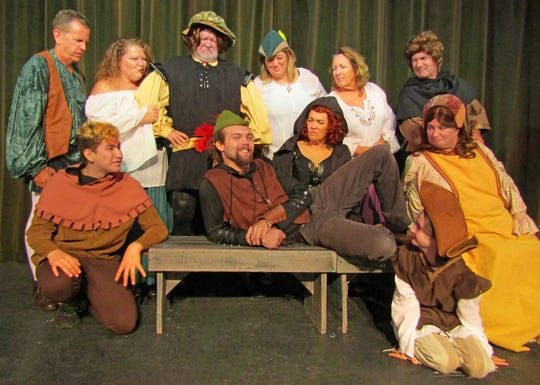 The inhabitants of Nottingham are exasperated by the over-inflated ego of the Sherwood Forest hero in Robin Hood Fractured. The comedy opens Friday, June 14 in Cocoa Beach and will run through June 23.