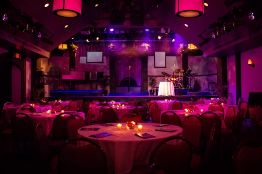 The Eagle Theatre transforms its seating from rows to tables with a 1940s nightclub atmosphere for a Sinatra tribute show in Hammonton through June 23.