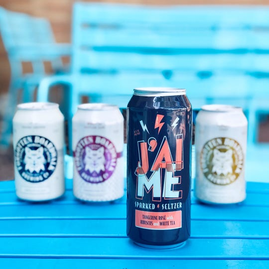 J'aime Sparked Seltzer will be available on tap and in cans throughout New Jersey. It is the first craft hard seltzer brewed by a New Jersey craft brewery.