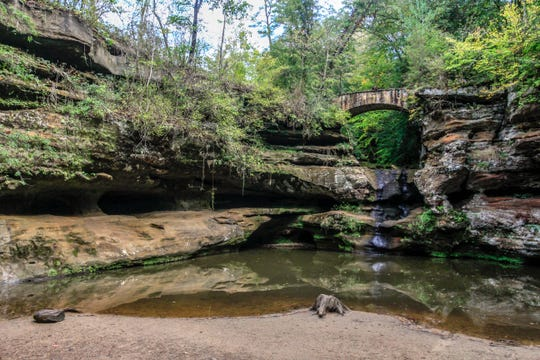 Hocking Hills is the third most popular state park in Ohio, according to Ohio Natural Resources.