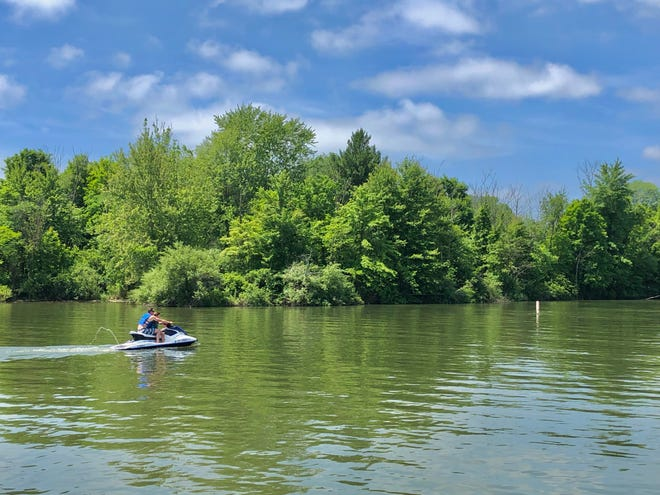 Alum Creek has Ohio's largest inland beach, according to the Ohio Department of Natural Resources.