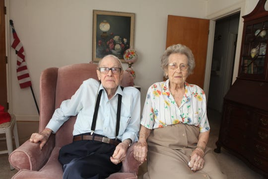 Dr. Frank and Katherine Willard have been married for 76 years.