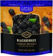 Kroger Private Selection frozen blackberries recalled.