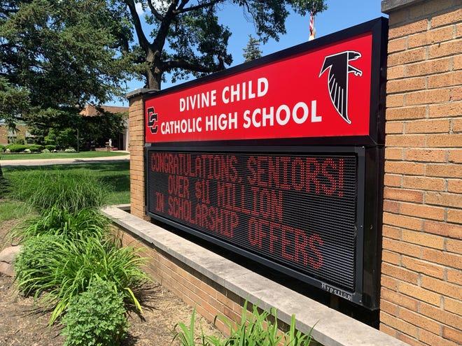 Divine Child High School in Dearborn.