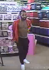 Police are searching for this man, wanted in connection to an incident on the city's west side