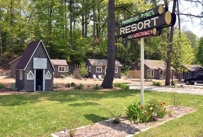 Paradise Pines Resort,  a mile south of the village of Elk Rapids, is undergoing renovations.