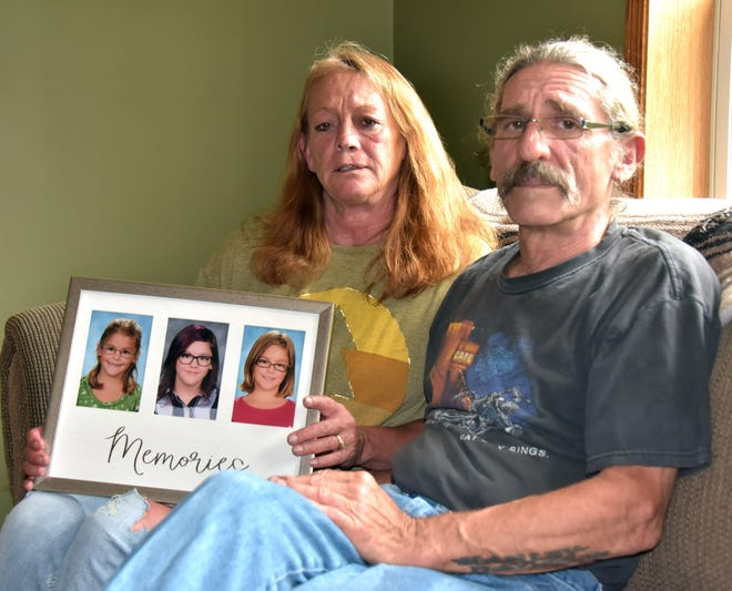 Jamie and Gary Pobuda of Mayfield, Michigan talk about their late granddaughter Shealynn Pobusa, who took her life on Feb. 3, 2019 at the age of 14. Suicide is the second leading cause of death for those 10-24 years old, according to the National Suicide Prevention Lifeline.