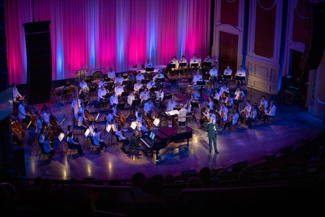 """An earlier performance of """"The Wonderful Music of Oz"""" with the Pittsburgh Symphony, coming to the Detroit Symphony Orchestra Friday-Sunday for the last weekend in the DSO's PNC Pops series."""