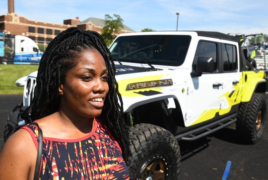 """This is truly a blessing for young people in the community,"" Ciera Brown, 31, said about the Jeep factory expansion."