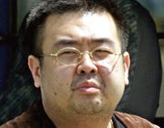 Kim Jong Nam, exiled half brother of North Korea's leader Kim Jong Un.