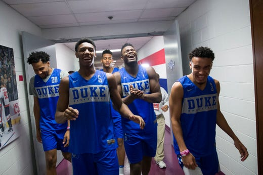 super cute c302d af989 Go through the gallery for Rod Beard's NBA mock draft 2.0, which includes  Duke's RJ