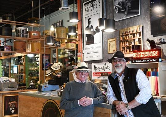 Joe Renkiewicz, 56, right with Paul Wasserman, is one year into a nine-year stock purchase. The store is set to become fully his in 2027.