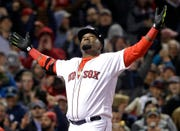 Boston Red Sox designated hitter David Ortiz in 2016.