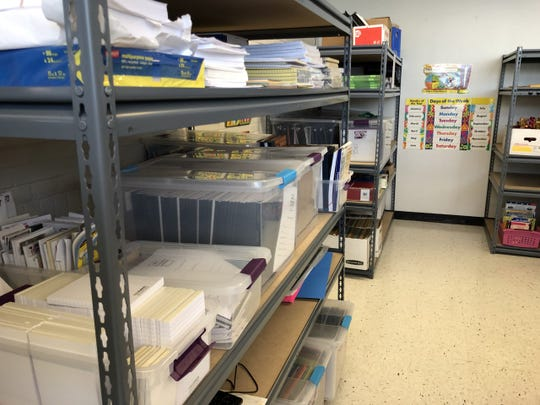 EVSC elementary teachers will be able to shop at the supply resource store -- located at AIS DIamond -- at no cost starting in August.