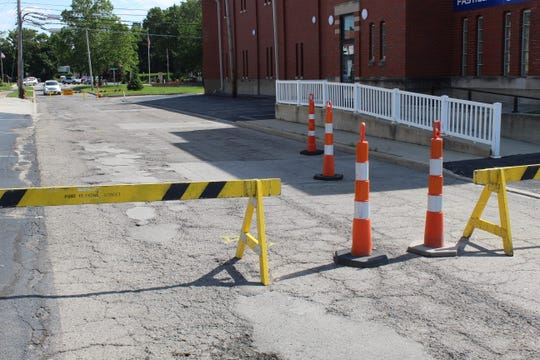 The City of Port Clinton has closed the northbound lane of Monroe Street from the Veterans Park Alley to Perry Street, due to street issues linked to historic high water levels. Mayor Mike Snider said that section of the street is sinking and the city needs to figure out the cause.