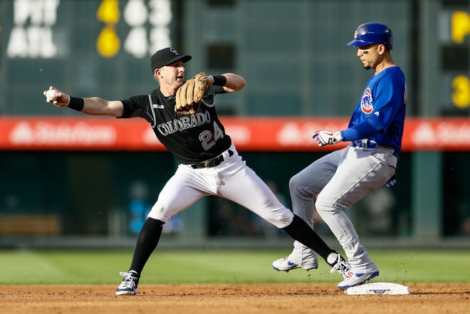 The Rockies host the Cubs in the finale of a three-game series at 1:10 p.m. Wednesday.