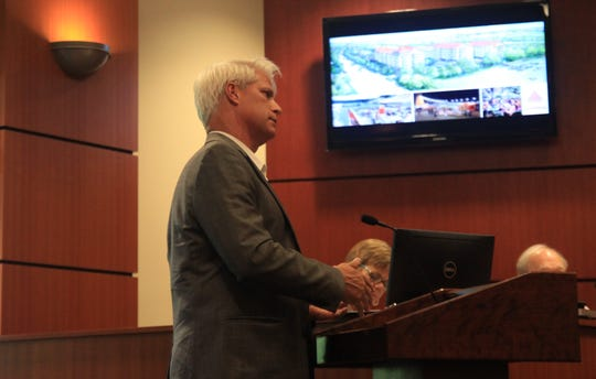 Brent Little discusses proposed Dockside development in Clemson.