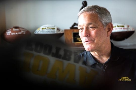 Kirk Ferentz takes his fitness seriously, and he says it's helped his sharpness (and, by extension, his coaching longevity) as he nears his 64th birthday and 21st season leading the Hawkeyes.