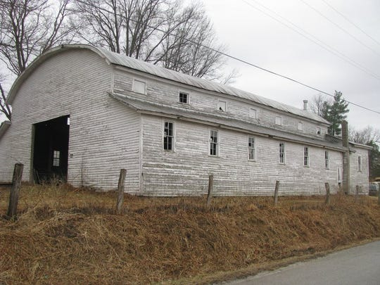 The Little York gym is a barn. It was used as a high school gym from 1936-47 and still stands. School consolidated into Salem.