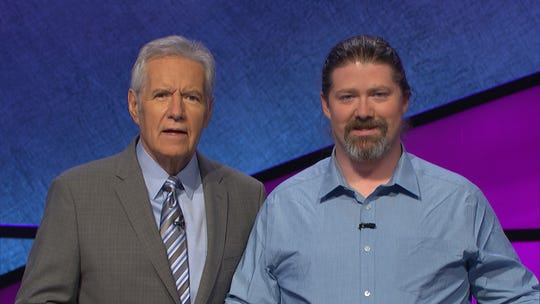 Martin Kane, a Westview High School teacher, said it was great meeting Alex Trebek during his time on the show Jeopardy.