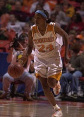 Lady Vols Tamika Catchings in 2000.
