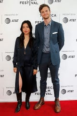 """NEW YORK, NEW YORK - APRIL 28:  Maya Erskine and Jack Quaid attend the """"Plus One"""" screening - 2019 Tribeca Film Festival at SVA Theater on April 28, 2019 in New York City. (Photo by Dominik Bindl/Getty Images for Tribeca Film Festival)"""