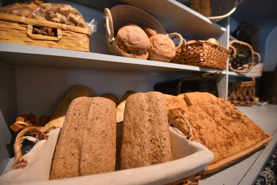 Fresh baked breads available at Share 'N Dipity.