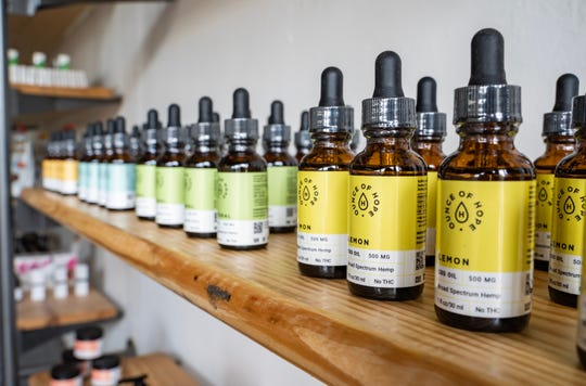 Ounce of Hope, a CBD dispensary, is now open at 553 Cooper St. in Midtown.