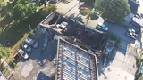 Drone video shows the damage from the Sherman Park civil unrest that occurred on the evening of Aug. 13, 2016