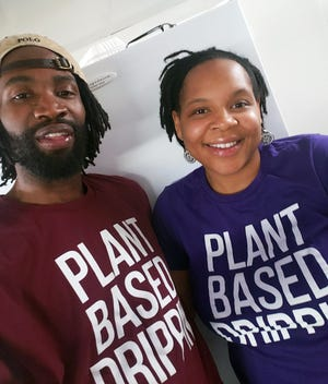 Arielle Hawthorne and her husband, Brandon, operate Twisted Plants in Cudahy. The vegan restaurant is approaching its one-year anniversary and they're expanding.
