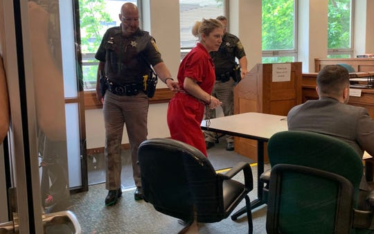 Kalin Sunde appears in Waukesha County Circuit Court on June 11, 2019.