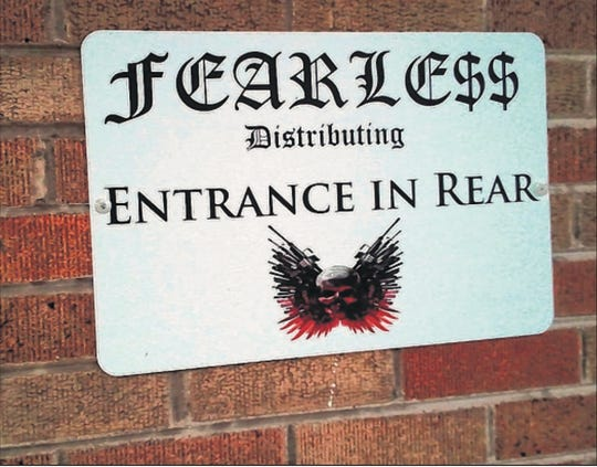 A University of Wisconsin-Milwaukee student and nearby resident, curious about Fearless Distributing, took this photo of its logo.