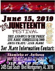 The group Music Against Problems (MAPs) will hold a Juneteenth celebration in Montgomery on Saturday.