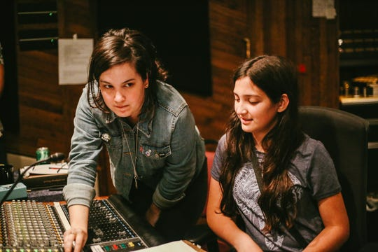 Girls Write Nashville is a nonprofit in Nashville that empowers youth in Nashville through mentorship, songwriting, production and artistic community.